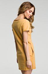 7cf43f5610 Sukienki na sezon 2019 - Moda - jednokolorowe - żółty - wszystkie ...