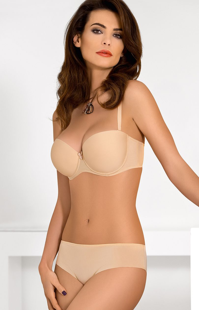 The Balconette Bra will show off your amazing shape, with legit underwire support. Comfortable, wide set straps give you the added confidence and comfort to be your sexy self throughout the day! The Balconette is the perfect bra for low-cut or plunging necklines too.