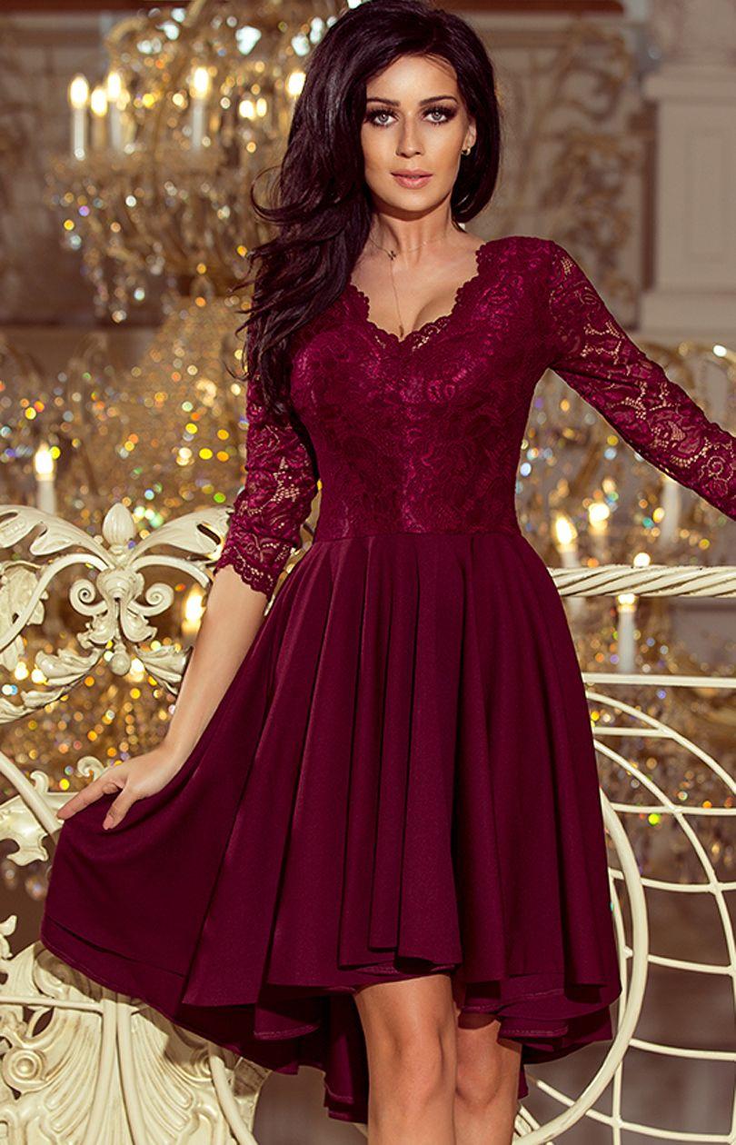 ece123ca 210-1 NICOLLE sukienka - Sklep OHSO.pl™