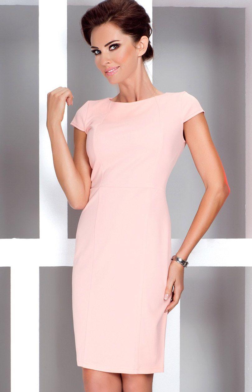 2c575df5dd Sukienka wizytowa 37-1 - Sklep OHSO.pl™