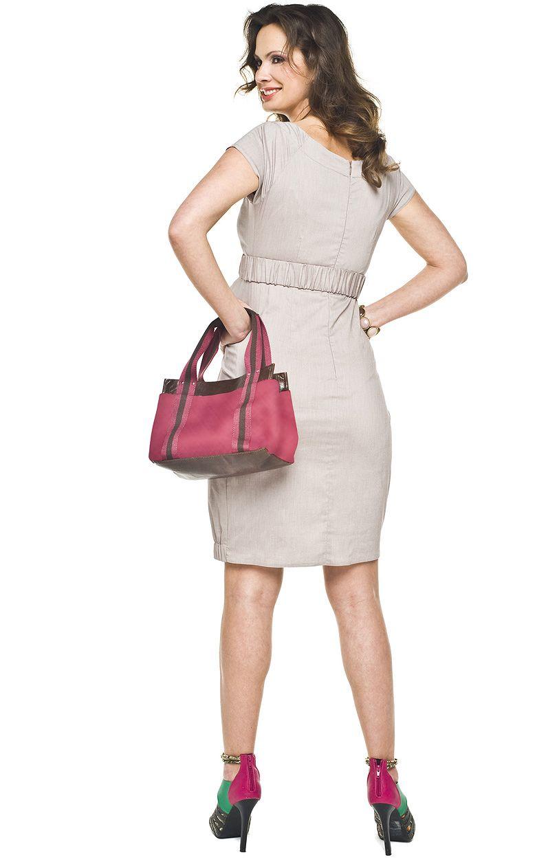 Malta sukienka - beżowy - Sklep OHSO.pl™ kLQ3LWVg