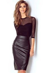 79149eb6da Spódnice - Moda - lateks skóra - wszystkie produkty na stronie ...